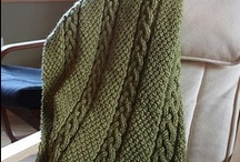 Knitting - Blankets, Afghans and Throws