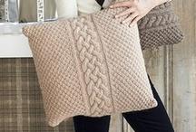 Knitting - Cushions