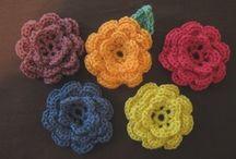 Crochet - Flowers etc