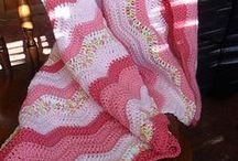 Crochet - Blankets, Afghans and Throws / by Sharon Blignaut