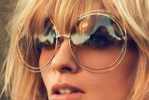 Sunglasses/ Eyewear Inspiration / faces with sunglasses I like