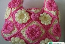 Crochet - Handbags, Purses, etc