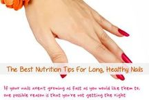 Healthy Nail Tips / Keep your nails healthy and strong.