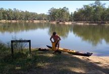Kayaking Murray River / One of the best places to kayak in Australia