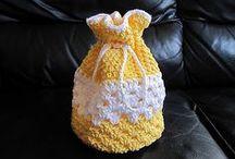 Crochet - Sachets, Gift Bags, etc