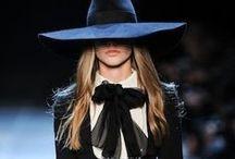 Saint Laurent Style / Silhouette by Yves  Saint Laurent or Hedi Slimane