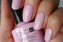 Shellac Nail Colours