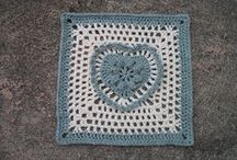 Crochet - Squares - 12 inches / by Sharon Blignaut