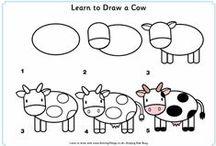 Aprender a desenhar / Passo a passo