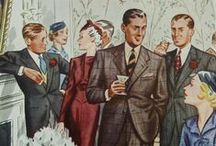 1930s Fashion Ideas for the discerning wedding guest / Some style ideas and pointers for those wanting to join in with the 1930s theme of the Harkett Deeley Wedding / by John Harkett
