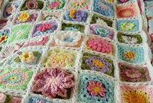 Crochet - Spring Flower Blanket