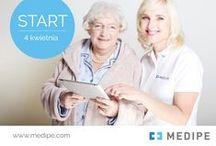 """Kurs języka niemieckiego dla Opiekunek / """"Akademia MEDIPE"""" powstała w odpowiedzi na potrzebę podnoszenia kwalifikacji Opiekunek i Opiekunów osób starszych."""