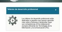 Eventos de formación / Seminarios de contacto y talleres de desarrollo profesional eTwinning en los que han participado docentes de Ceuta