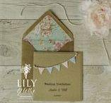 Rustic Wedding Invitations / Rustic Wedding Invitations from Lily & Lottie Wedding Stationery