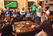 """Fabulous! Football Party Food / When it comes to our Football Season, no party can be """"too much"""". We become those people who shamelessly love to boast team spirit. We be Bold... Be Fabulous!"""