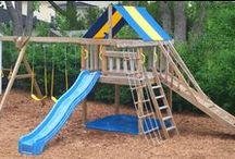Swing Set Kits / Swing Set Kits / by Detailed Play Systems