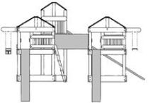 Swing Set Plans / Plans to build wooden swing sets