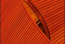 Architecture | Red/Orange