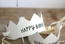 Birthdays, party decoration  ideas / decoration for Birthday parties and festive events