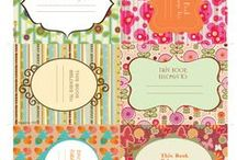 Labels / labels for kitchen, school,books and more occasions
