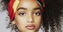 Beautiful faces; young and old. / About physical perfection
