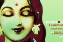 Bhakti Center Programing Art / Promotional art for Bhakti Center at 25 First Avenue in New york City.