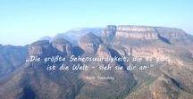 Reisezitate / Zitate und Weisheiten rund ums Reisen