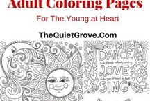 PRINTABLES: coloring book pages, lists, much more