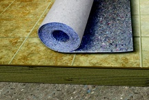 UltraLayer® Peel & Stick / UltraLayer Peel &  Stick is a self-adhesive acoustic and protective membrane for under ceramic, porcleain tile, and natural stone.
