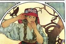 Art: Alphonse Mucha / by G.W. Maas