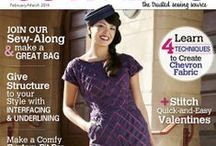 SewNews magazine - Stepalica's articles / My articles published within the Pattern Play column of Sew News magazine