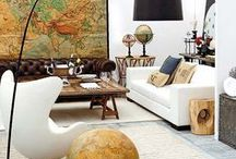 MAPS / Maps are always interesting to look at. See how to use this inexpensive and stylish attribute transform your interior.
