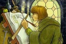 Scriptorium / Manuscritos iluminados: Libros de horas, Beatos, Herbarios, Bestiarios, Mapas...