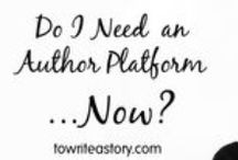 Writer's Platform / Breaking into the writing world can be difficult (for me, terrifying is a better word), especially if you don't have a writers platform. Learn about ways to build yours here.