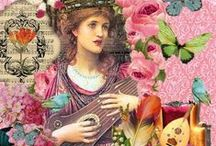 Collage digital / El collage es una técnica artística, consistente en el pegado de diversos fragmentos de materiales sobre una superficie; es decir en ensamblar elementos variados en un todo unificado.