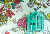 De cara a la pared / Pintura mural, grottescos, trampantojos, vinilos...