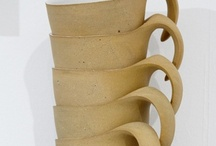 Ceramic art cups & bowls / by Edith Tergau
