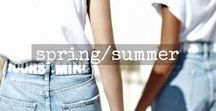 spring/summer / looks and inspo from our spring and summer collections
