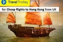 Cheap Flights to Hong Kong / Cheap Air Tickets for UK  Hong Kong Flights only at TravelTrolley.co.uk – We offer cheap air tickets for UK  to Hong Kong flights.