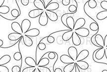 Acolchado / Graficos para acolchar en patchwork