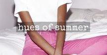 hues of summer / bringing you summer sunshine year round