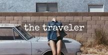 the traveler / not all who wander are lost