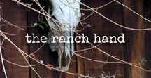 the ranch hand / an ode to our ranch hand overall. wear them rolled at the hem and with a bandana.