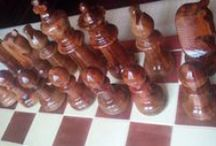 Handmade wooden chess set / wooden chess set,wooden chess pieces,handcrafted