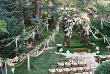Outside Wedding and Reception Ideas