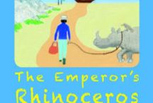 The Emperor's Rhinoceros - Book - www.jacktrelawny.com / 'The Emperor's Rhinoceros' is the first book in my 'Thirteen Things' series; inspired by the 13 objects chosen for children from the joint British Museum and BBC project: 'A History of the World in 100 Objects'. This Board has Pins related to the book in particular and rhinoceroses in general.