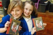 Kings Norton Primary School B30 3EU / Jack Trelawny free school author visit to Kings Norton Primary School B30 3EU.