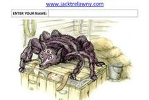 School Author Visit Resources - QuickQuizzes - www.jacktrelawny.com / Jack Trelawny School Visit Resources - QuickQuizzes. 5 Questions: Written Answer format. 'Kernowland' is a 6 book series. http://www.amazon.co.uk/Jack-Trelawny/e/B0034PEXIS