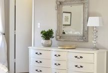 Bedroom Mirrors / There are many ways you can incorporate a mirror into your bedroom whether it be a full length cheval mirror or a dressing table mirror be inspired by our pinboard for ideas for your own home.