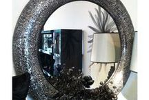 Mosaic Mirrors / Be inspired by our collection of beautiful mosaic mirrors featuring stunning intricate detailing.